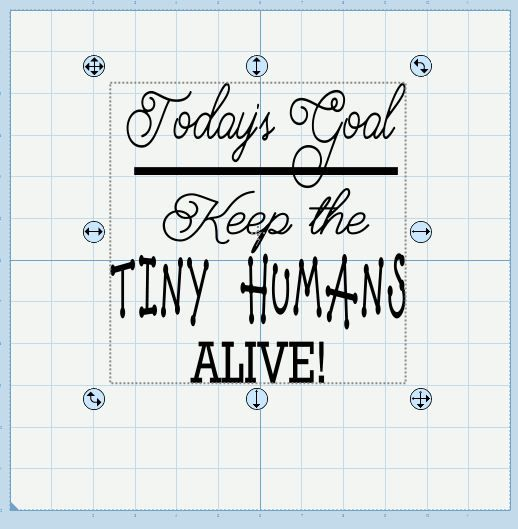 Download Today's goal: Keep the tiny humans alive SVG | Tiny humans ...