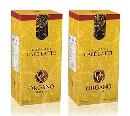 2 Boxes Of Organo Gold Ganoderma Gourmet Caf Late 20