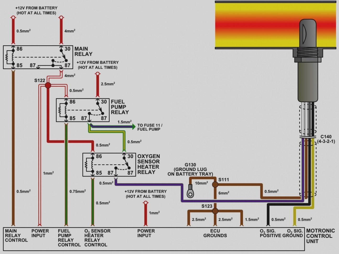 Dodge Oxygen Sensor Wiring Diagram