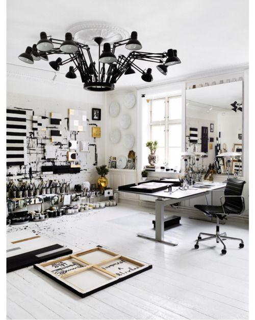 Captivating 19 Artistu0027s Studios And Workspace Interior Design Ideas Nice Look