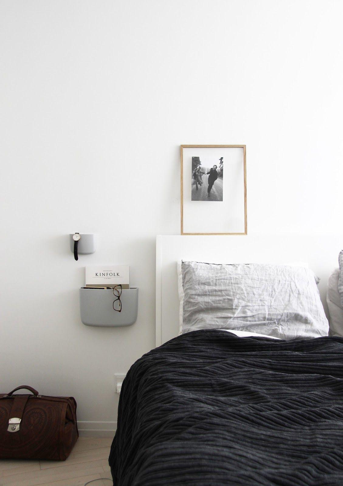 Pin by nordicrooted on bedroom schlafzimmer ideen wohn for Bett scandinavian design
