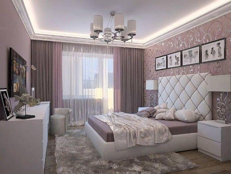 Chambre ado fille moderne en 50 idées pour un décor génial et cosy!   Deco chambre a coucher ...