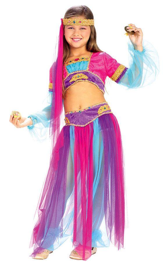 Queen Of Sheeba Arabian Girls Costume Belly Dancer Costumes