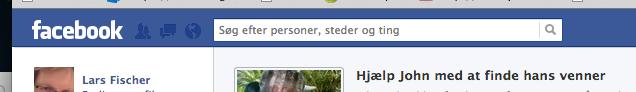 Facebook grammatik.