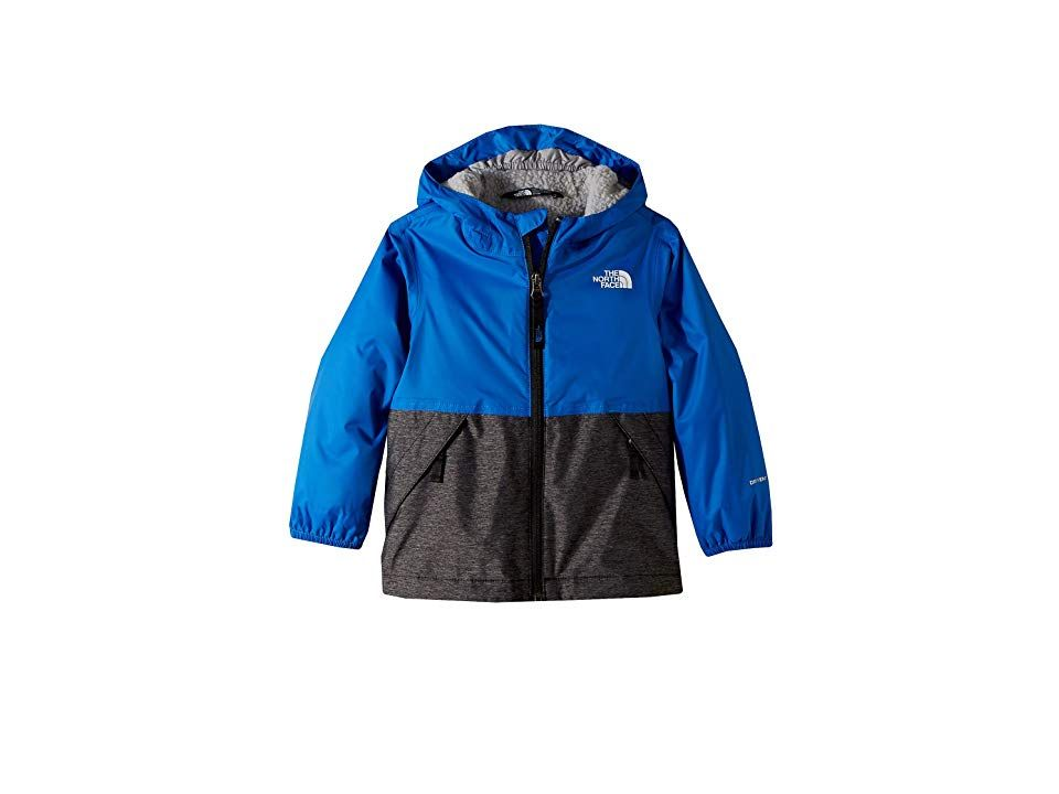 2187349eb The North Face Kids Warm Storm Jacket (Toddler) (Turkish Sea) Boy's ...