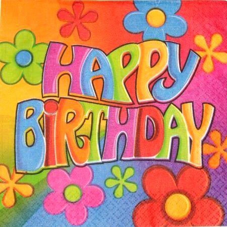 2ed8f8df99ab3c8cb5f4cfc4fa011a41 colorful hippie flower power happy birthday wish birthdays