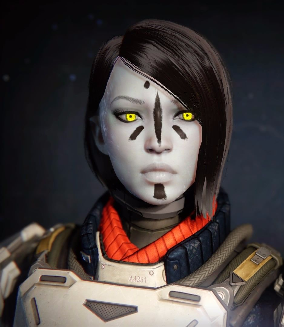 Destiny: Awoken fem titan from Character Creator | Destiny ...