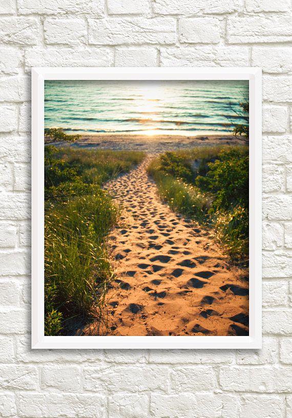 A Digital Download Of An Original Fine Art Photograph Taken On Lake Michigan In Van Buren Michigan In The Sum Photography Wall Art Beach Wall Art Michigan Art