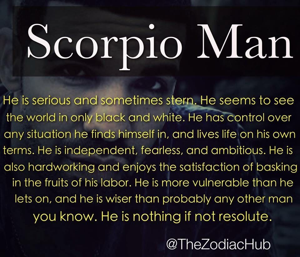 How to attract a Scorpio man: Make him fantasize!