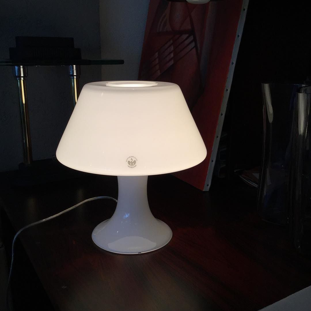 Holmegaard glass table lamp mouth blown glass holmegaard glass table lamp mouth blown glass mozeypictures Choice Image
