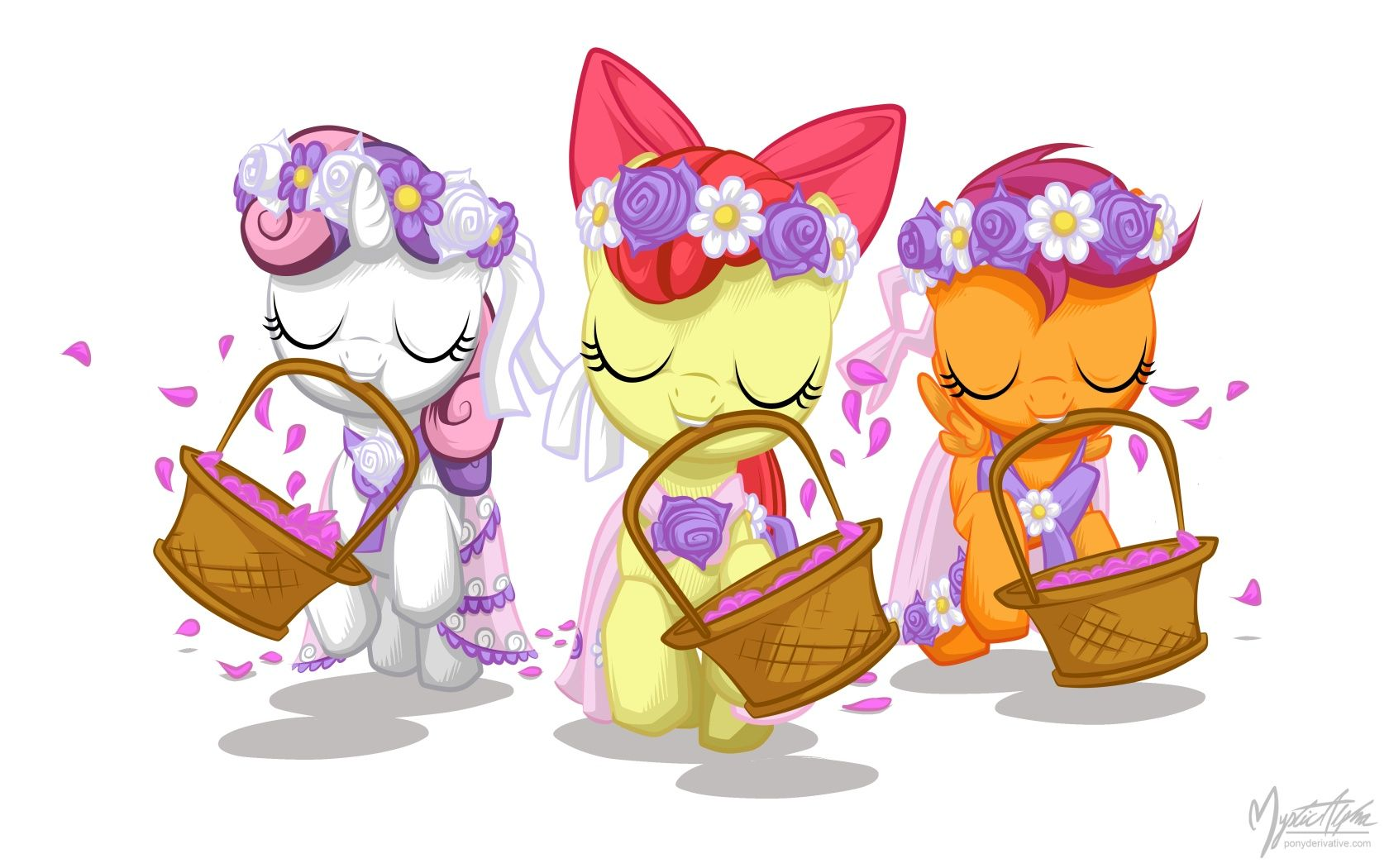 Flower Fillies By Mysticalpha Deviantart Com On Deviantart