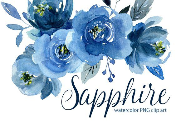 Watercolor indigo blue roses . Art watercolor illustrations for businesses like blogging, graphic design, wedding invitations. More #watercolor #illustrations you can download here ➝ https://creativemarket.com/graphics/illustrations?u=BarcelonaDesignShop #watercolor #palm #tropical #leaf #blue #illustration #exotic #flora #botanical #rose #art #painting #summer #nature #design #pattern #download #graphic