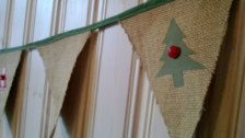 Garlands & Bunting in Decorations - Etsy Christmas