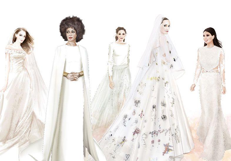 7 vestidos de noiva mais lindos dos últimos tempos