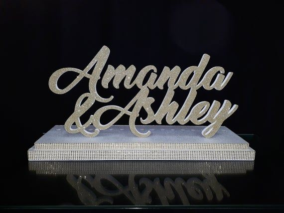For twins Sweet 16 Candelabra silver glitter,Quinceanera & Mitzvah Candle Lighting Centerpiece,3Dname styrofoam, foam letters,BabyShower