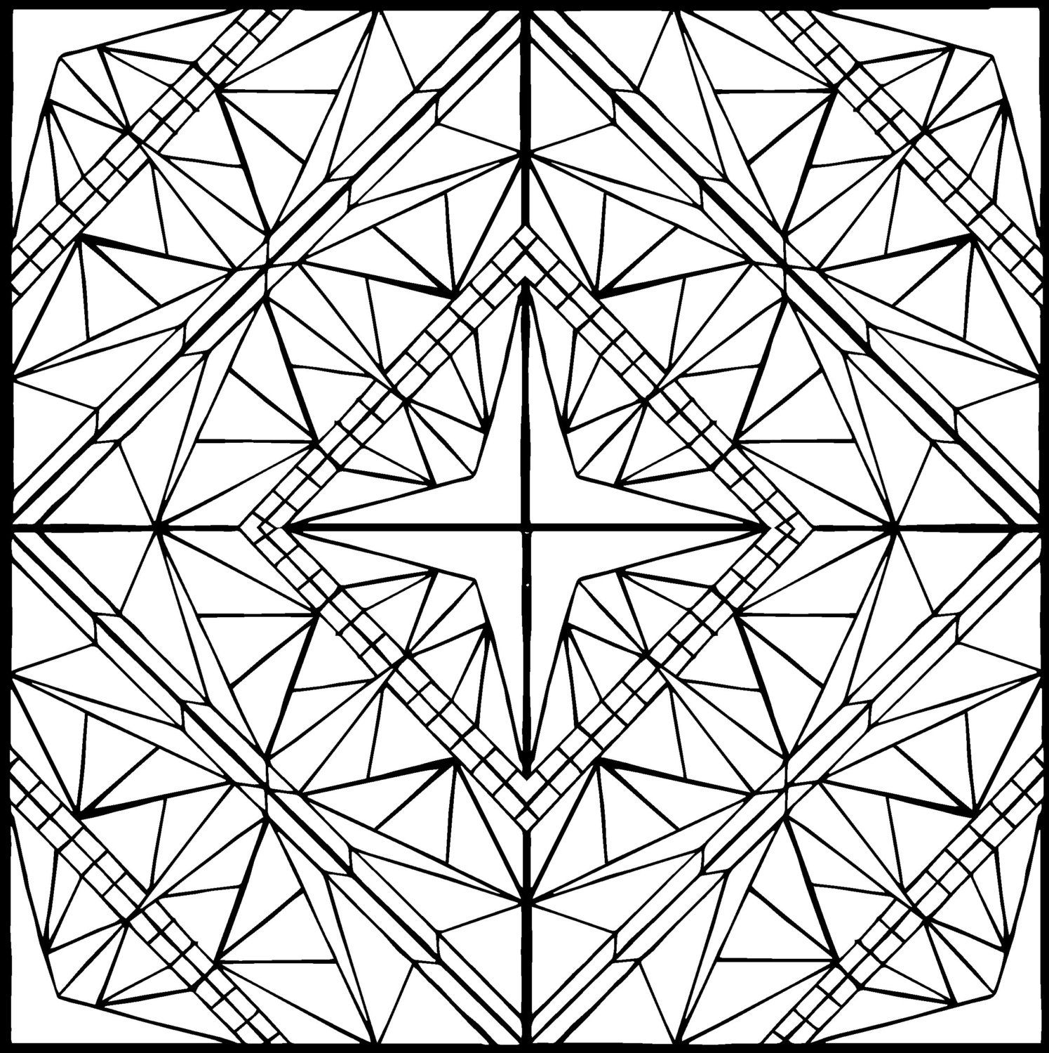 Coloring page diamond by brokencrayonworks on etsy k pinterest