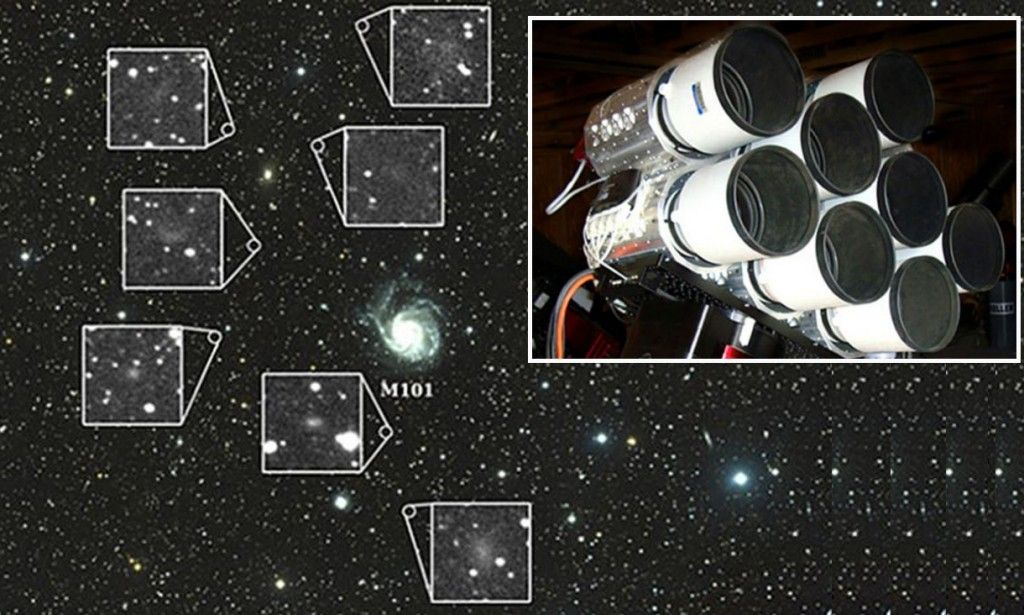 Hi-Ho! Astronomers find cluster of seven dwarf galaxies