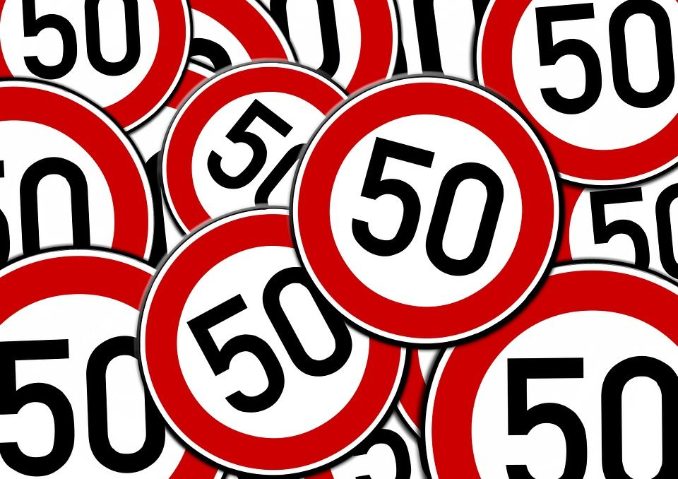 Free Image on Pixabay Road Sign, Speed Limit, Street