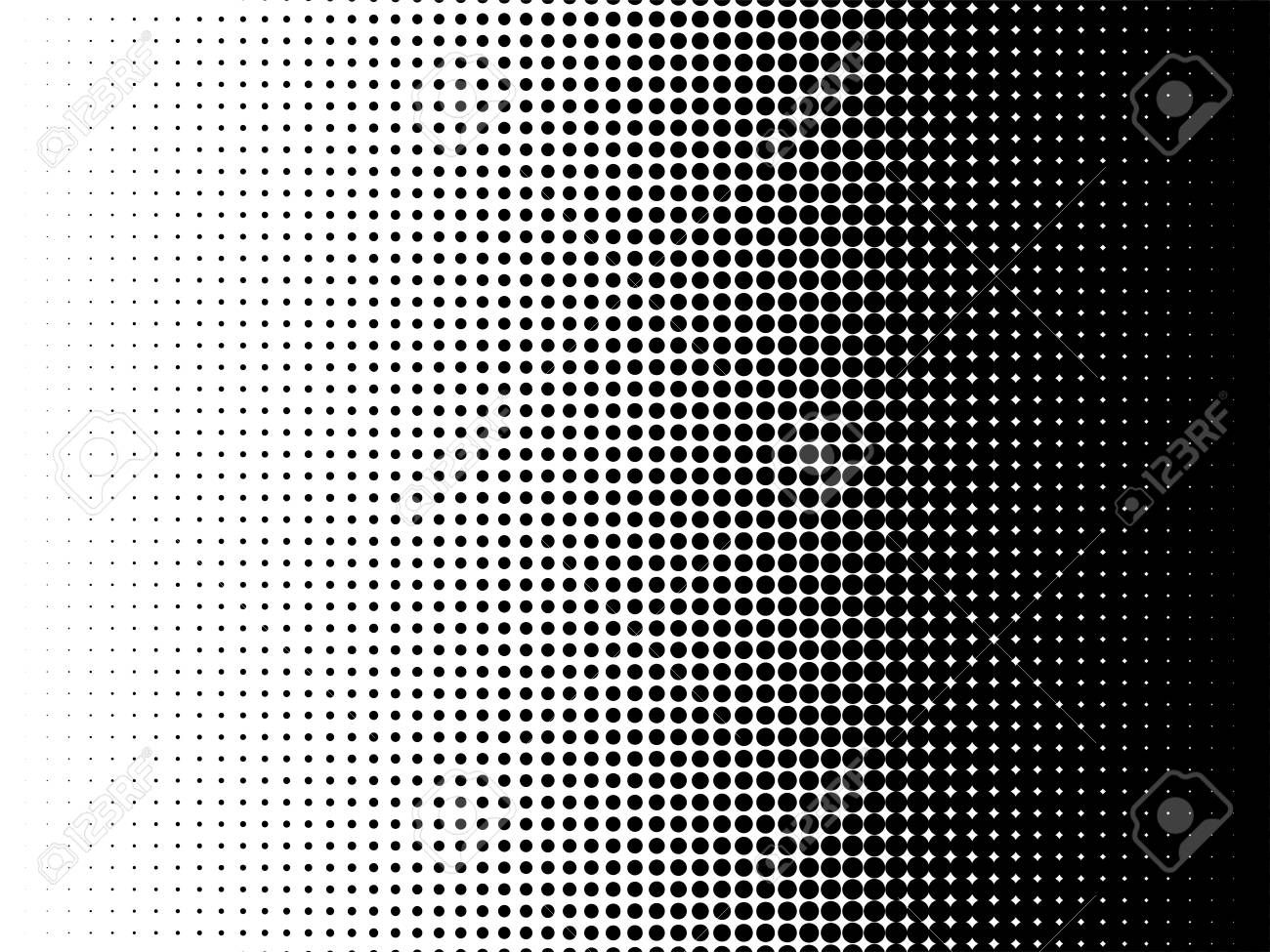 Radial Halftone Pattern Texture Vector Black And White Radial Dot Gradient Background For Retro Vintage Wallpaper Graphic Effe Texturen Muster Ideen Struktur
