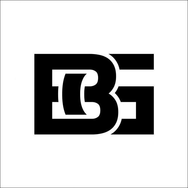 Plantilla De Diseno De Vector De Logotipo De Letra Inicial De Bg Logo Bg Vector Png Y Vector Para Descargar Gratis Pngtree Letter Logo Text Logo Design Letter Logo Design