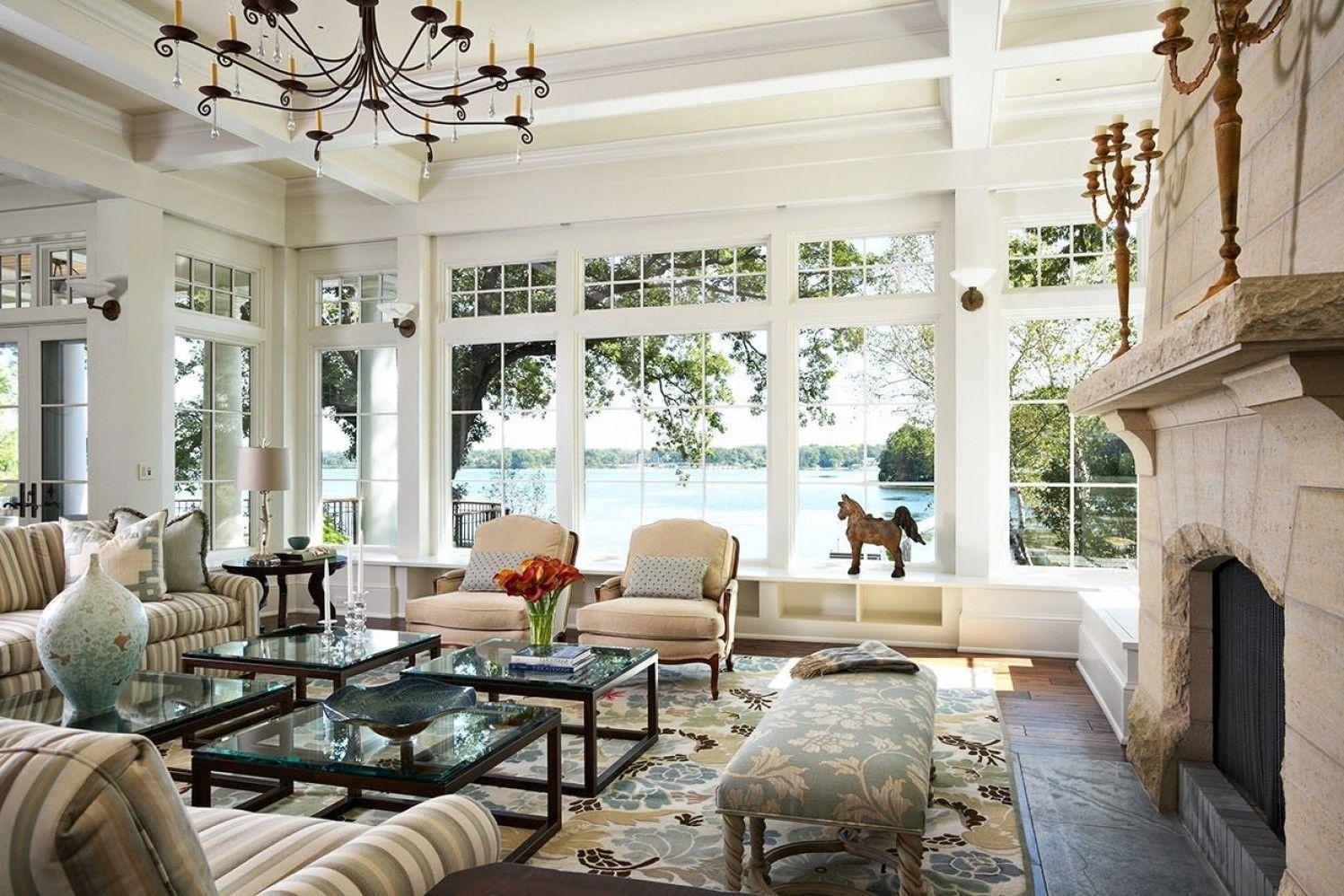 35 Fancy Lakehouse Living Room Model Living Room Windows