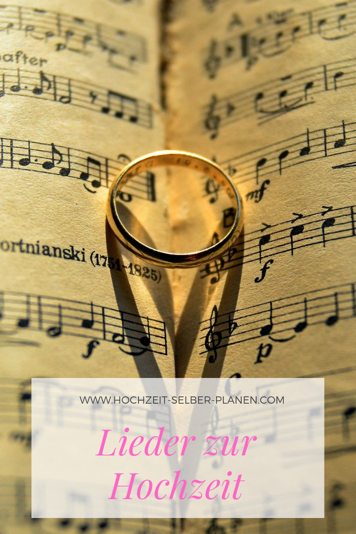 Kirchliche Hochzeitslieder