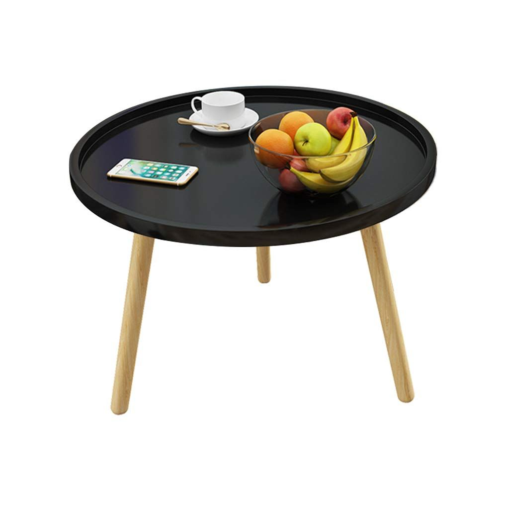 Coffee Table Multifunction Small Round Table Household ...
