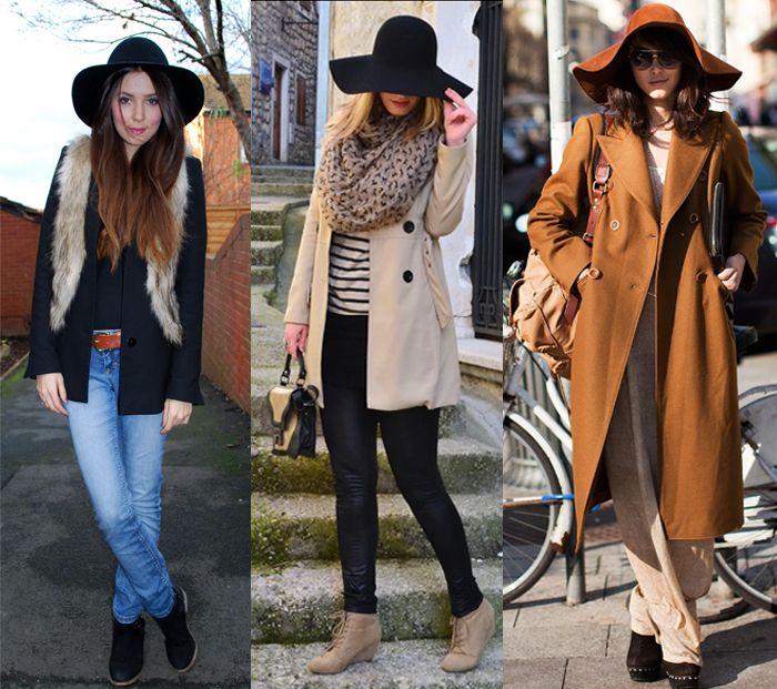 c4d2dd6a672ed Como usar chapéu floppy com casacos