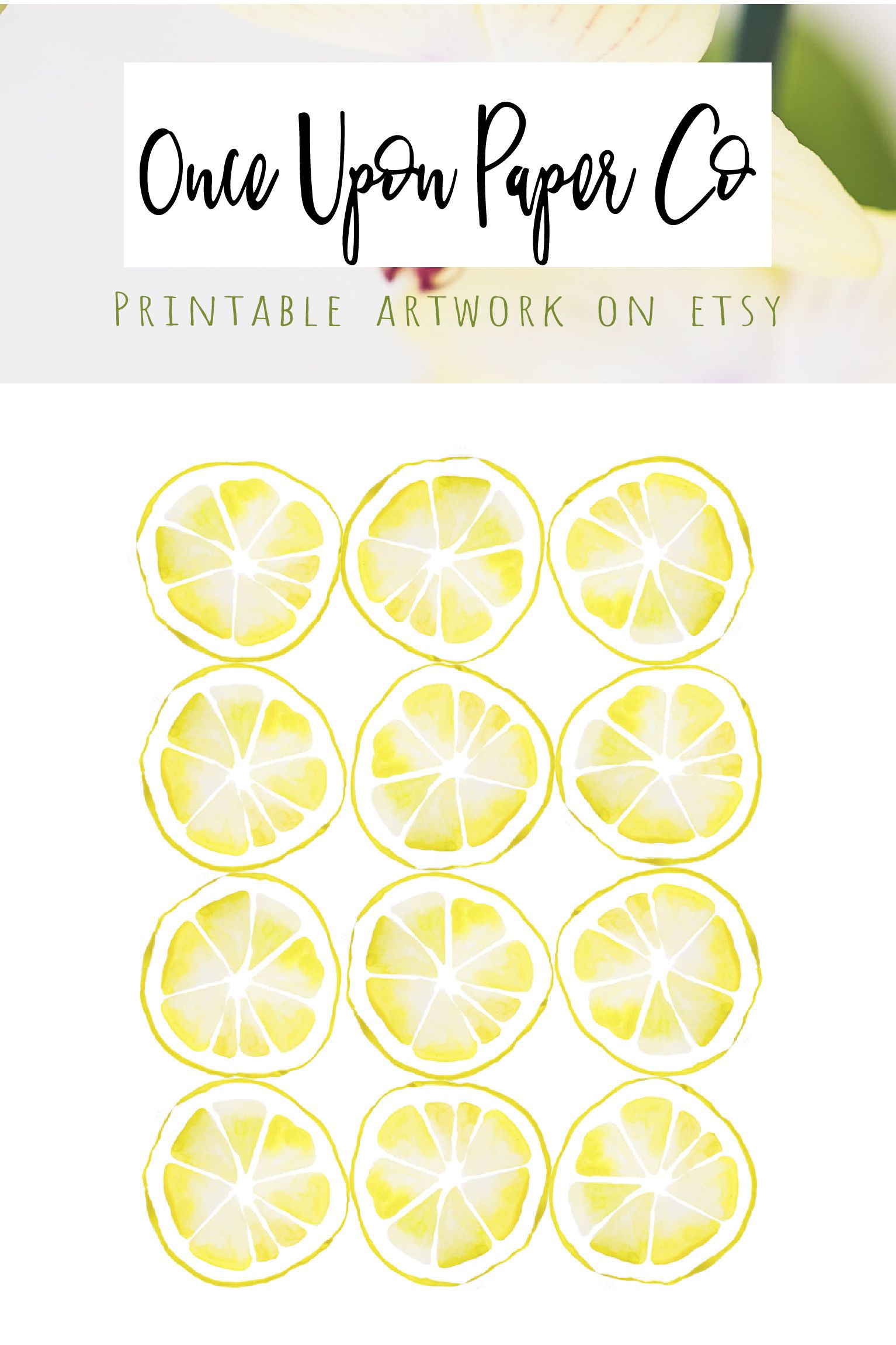 Lemon kitchen print, Kitchen printable, Farmhouse style, Rustic home ...