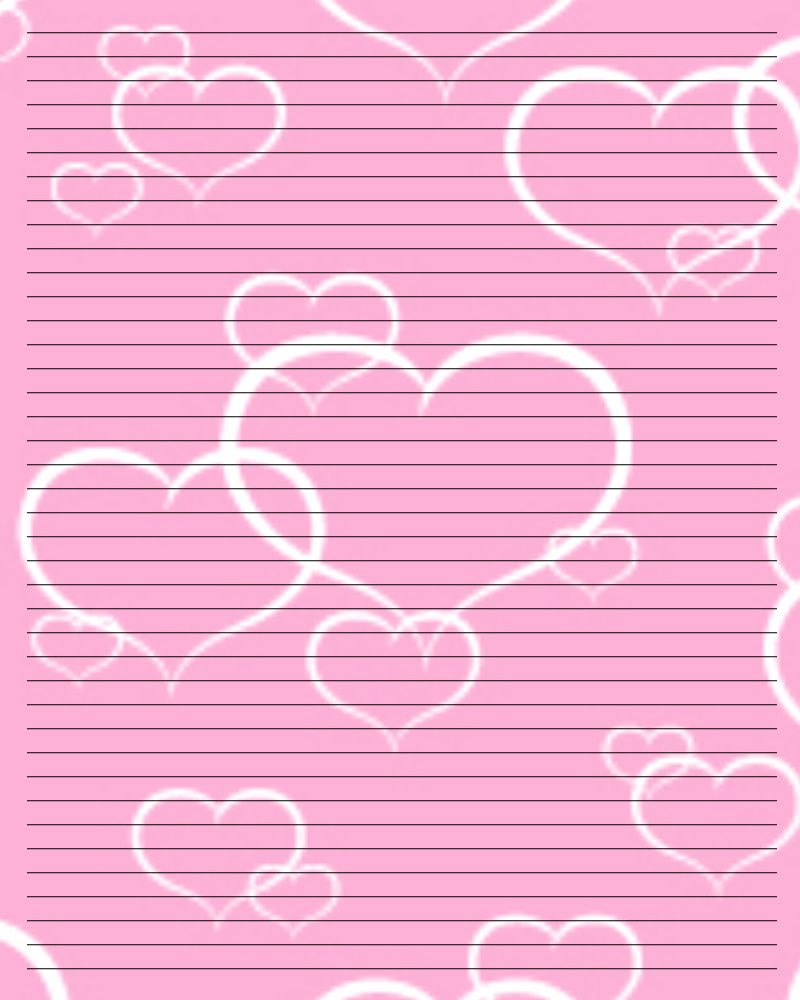 free valentines stationery paper printable writing paper