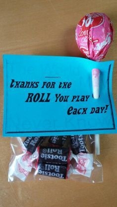 faculty meeting treats thanks for the roll you play each day the