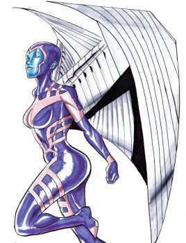 Female Archangel by Supajoe