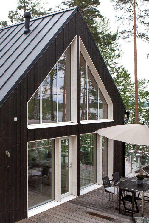 Крутые Одноэтажные Финские Деревянные Дома на 180+ фото ...