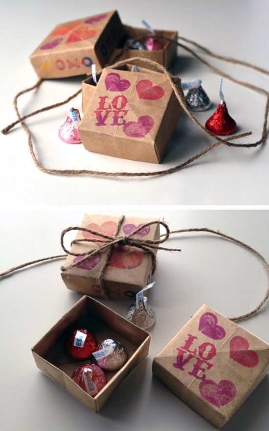 Origami Treat Boxes Click Pic For 38 Diy Valentine Gifts For Him