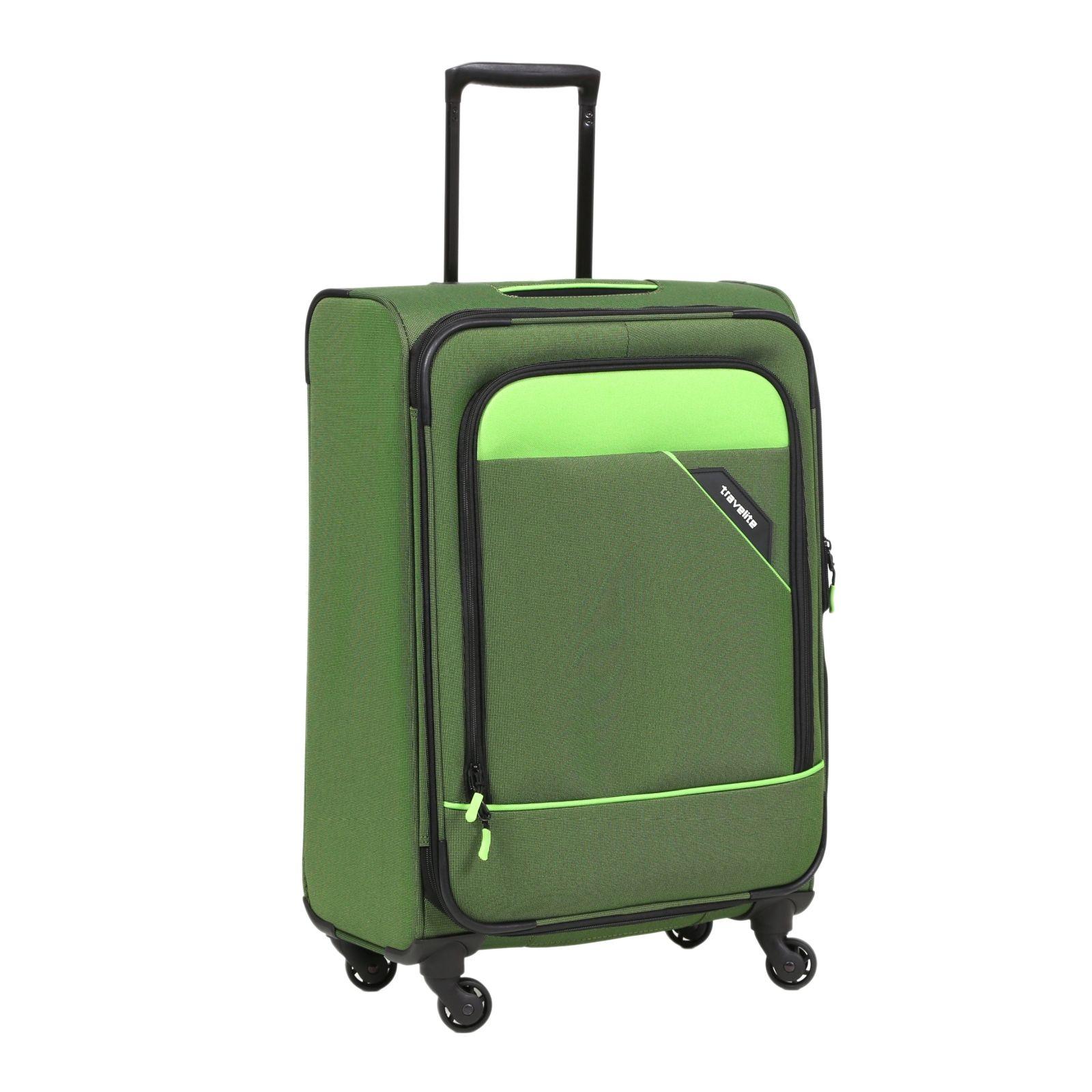 Derby 4-Rollen Trolley grün 66 cm Travelite CQB2K