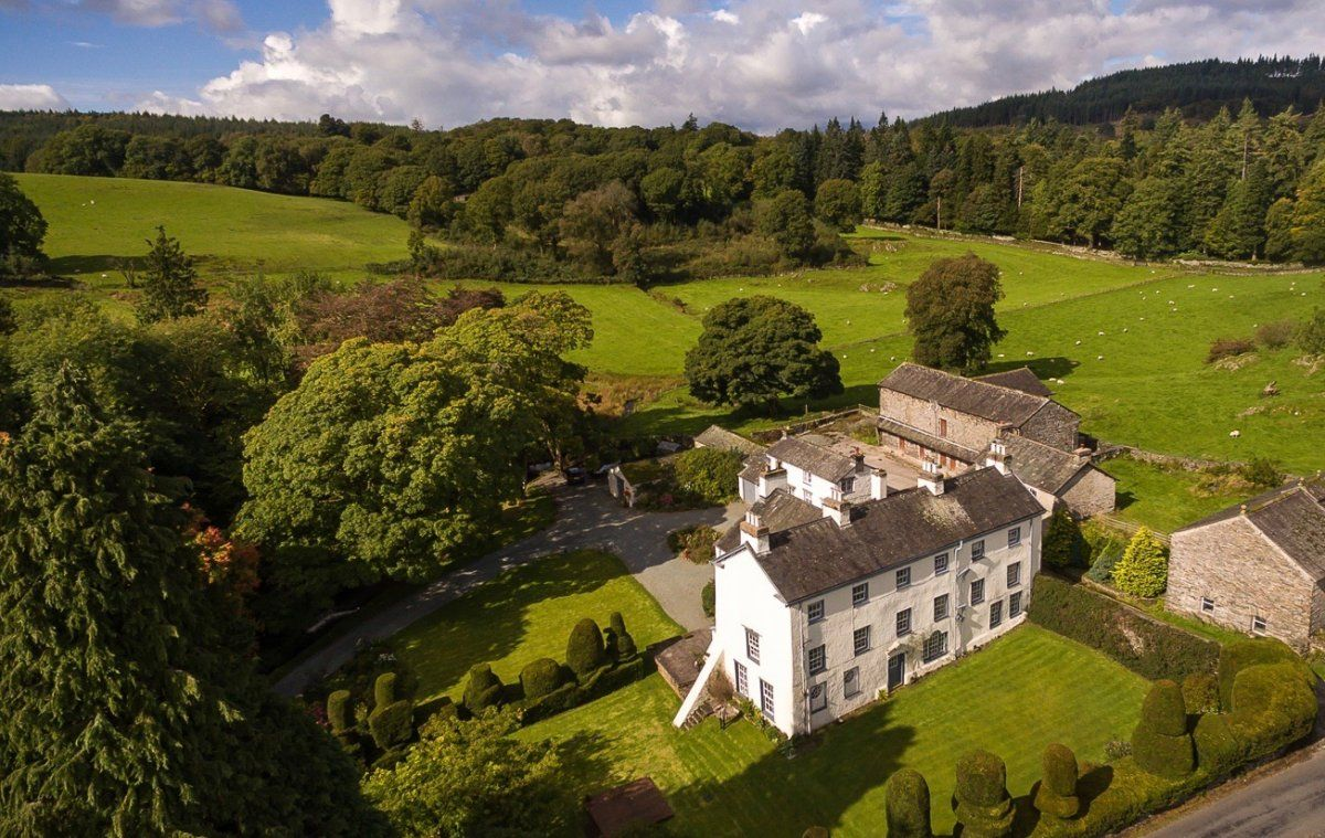 Low Graythwaite Hall Country House Grounds Lake District