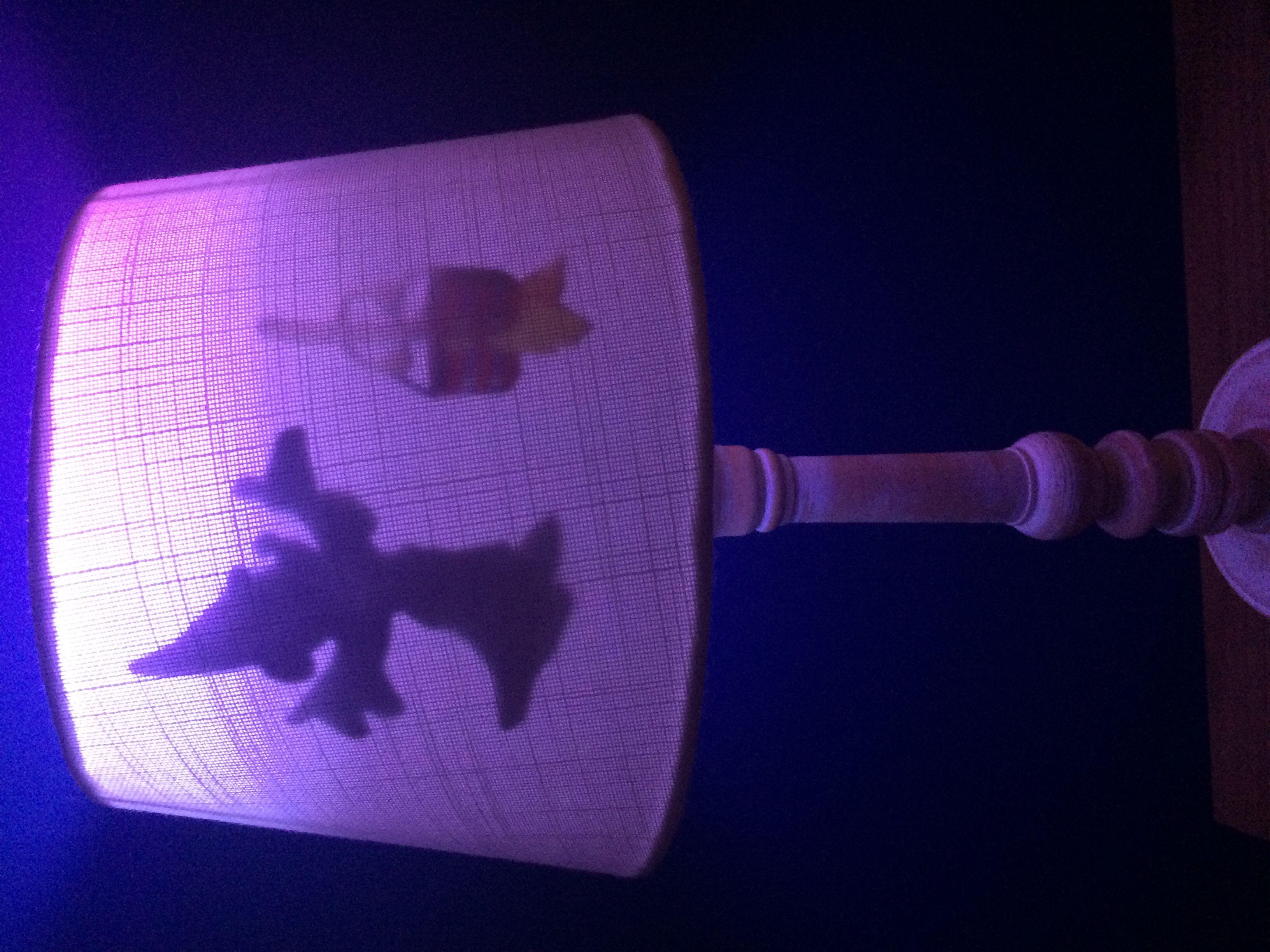 Self made Disney fantasia lamp