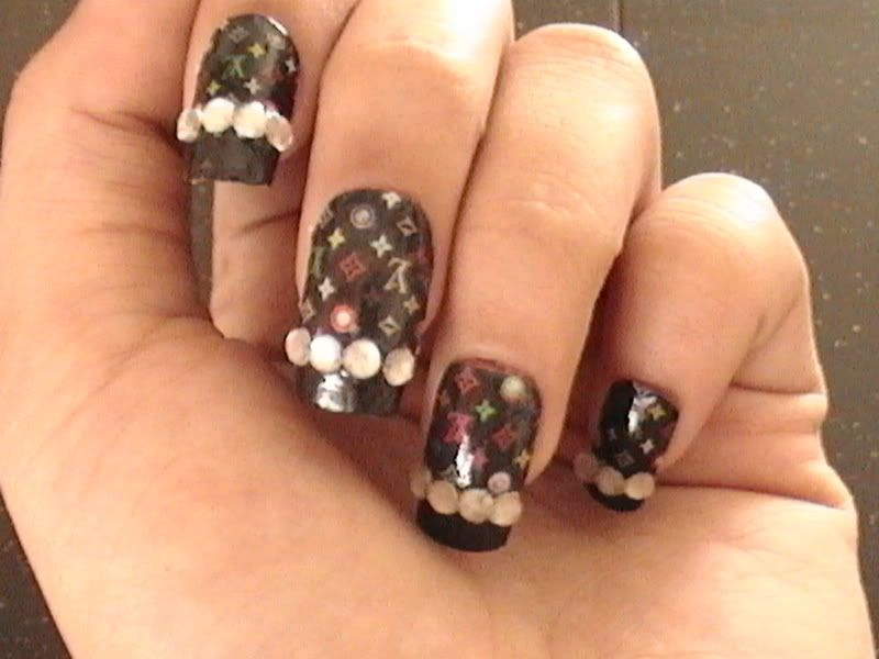 Louis Vuitton nail art and some other news... | ❤ Things I love ...