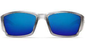 65c802870988 New Costa Del Mar Corbina 580G Silver Blue Mirror Lens 60mm Polarized  Sunglasses by Costa