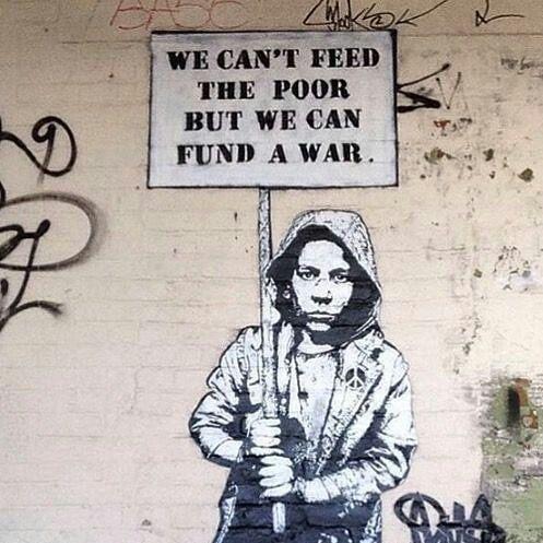 ❌Bansky❌ #graffiti #banskyart #bansky #picoftheday #picart #streetart #antiwar #banksyart