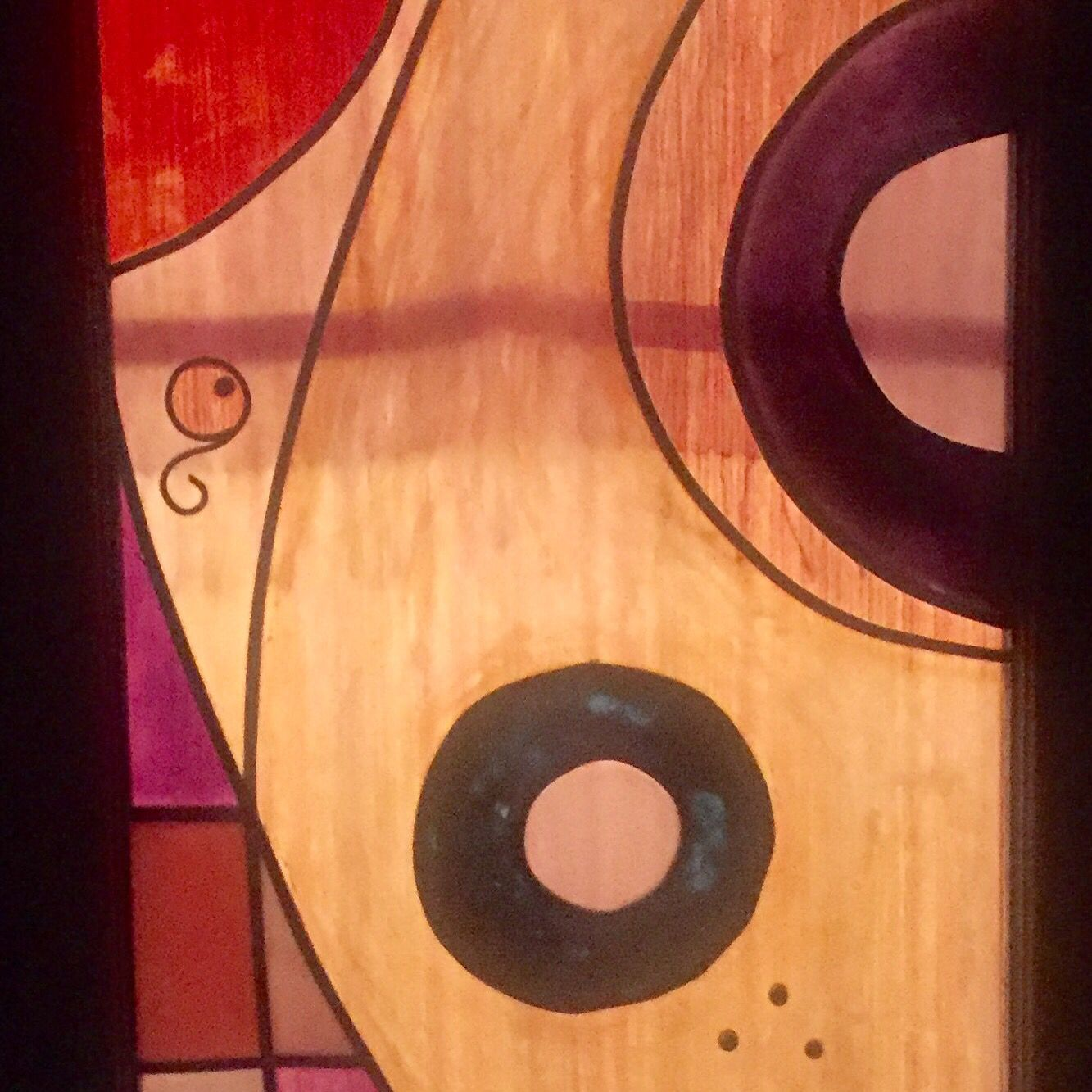 More Glass Painting Done On Door Panels My Art Pinterest