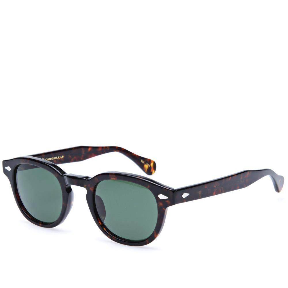8fbcbe6731 Moscot Lemtosh Sunglasses (Tortoise   G15 Lenses)