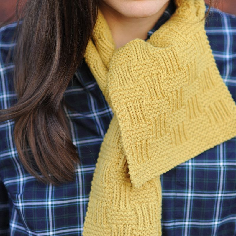 scarf squared - Quince and Co