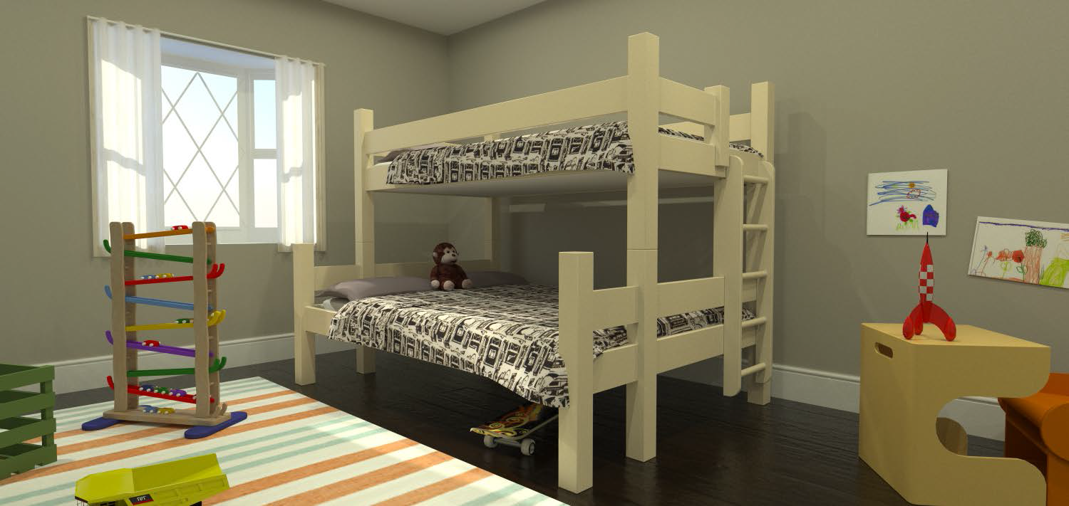 Non Toxic Green Furniture Kids Bunk Bed Design Decor Cream Www Mainebunkbeds