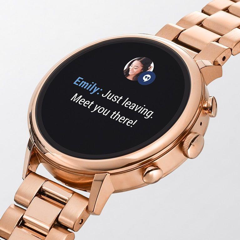 940fa560955 Gen 4 Smartwatch - Venture HR Blush Leather in 2019 | Accessories ...