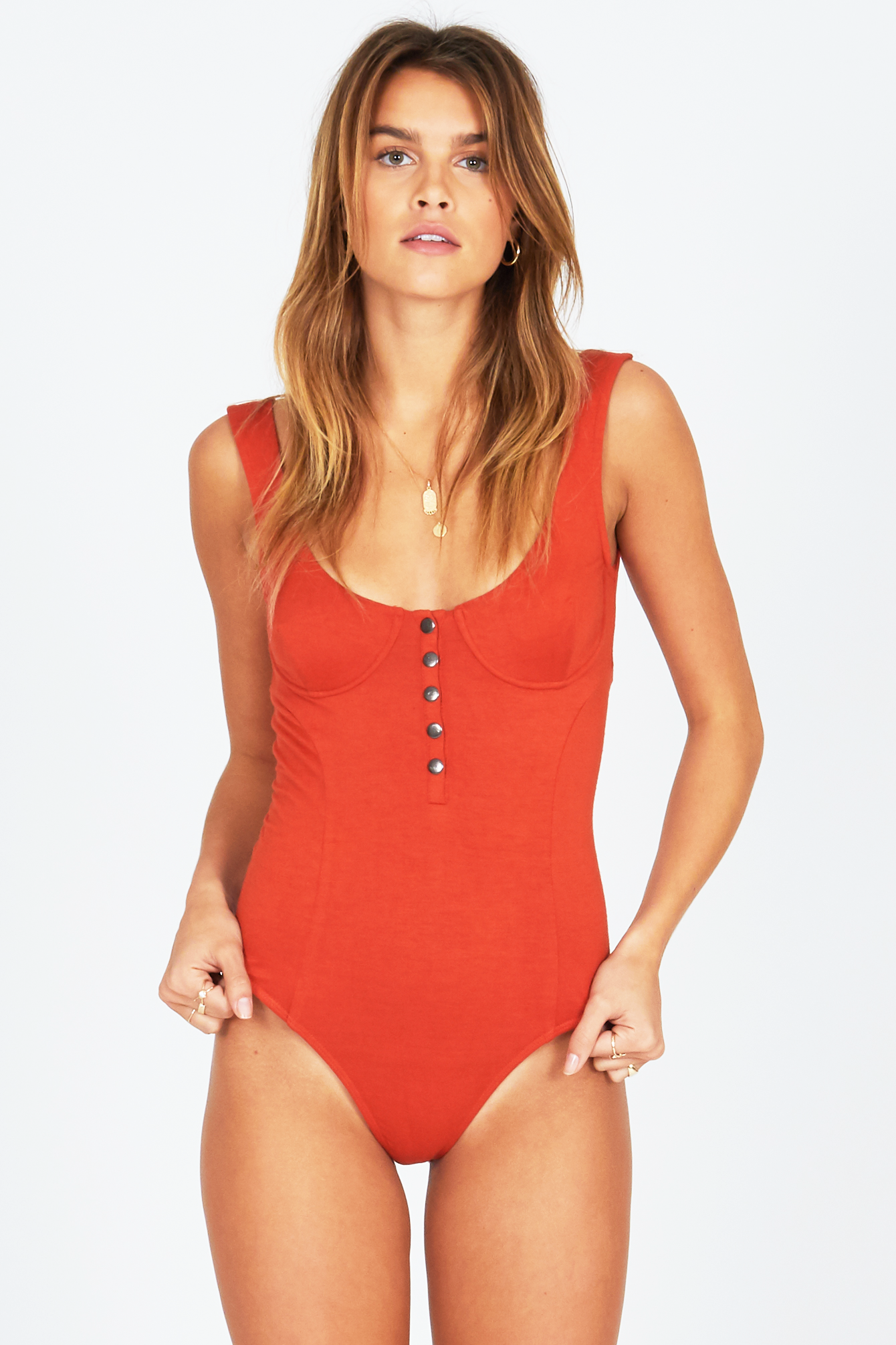 fc00c54ad15 AMUSE SOCIETY Summerland Seamed Bodysuit