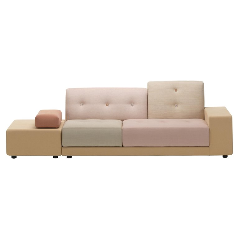 Vitra Polder Sofa In Pastel Shades By Hella Jongerius In 2020