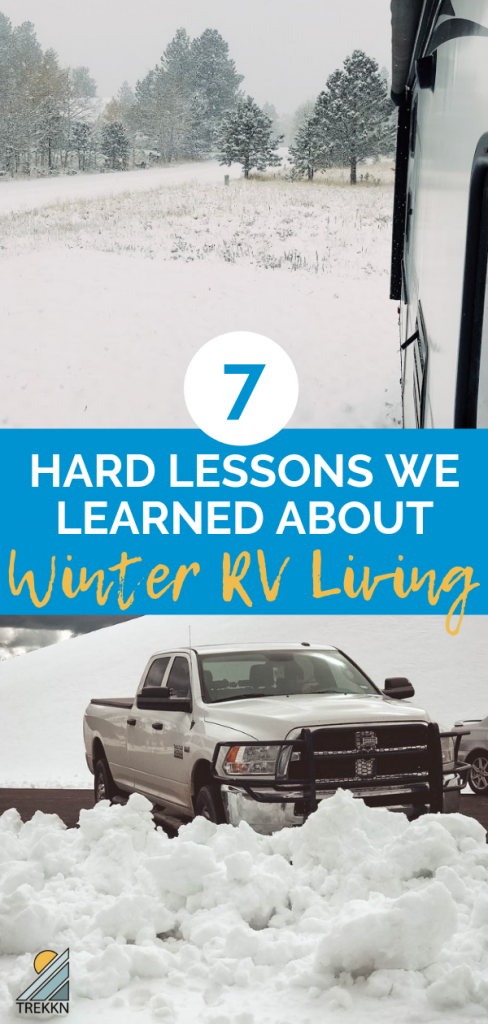 Photo of 7 Hard Lessons We Learned About Winter RV Living