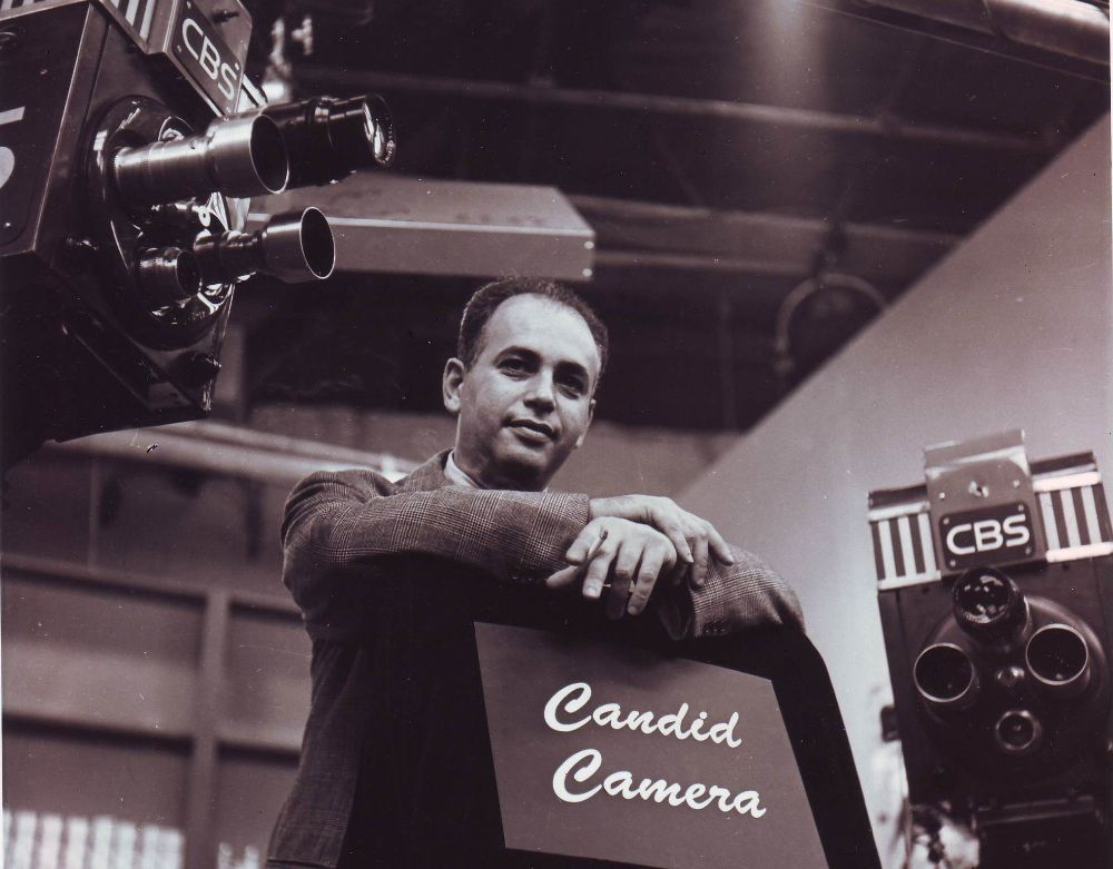 Candid Camera Star Wars : Allen funt ww army signal corps host of candid camera