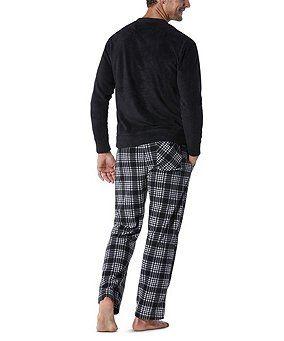 a7222720e36f1 Denver Hayes Micro Fleece Pajama Set
